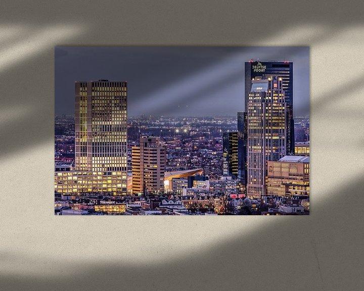 Beispiel: Rotterdam Central District von Frans Blok