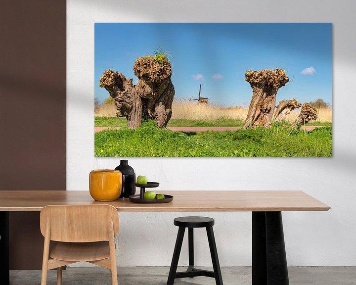 Sfeerimpressie: Grondzeiler windmolen De Ambachtsmolen, Oudorp Alkmaar, , Noord-Holland, Nederland, van Rene van der Meer