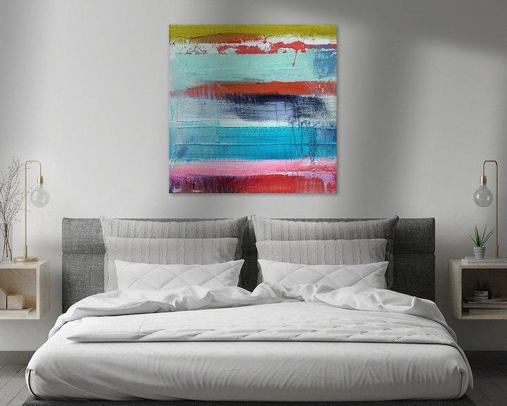 Sfeerimpressie: Abstract fields 1 van Atelier Paint-Ing
