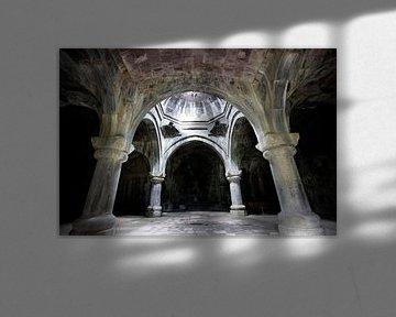10e eeuwse kerk van de Heilige Verlosser in Armenie von Joyce van Belkom