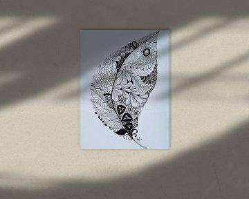 Zentangle Kunst Veer