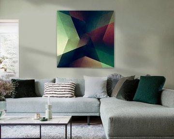 Moderne Geometrie No 16 von Pascal Deckarm