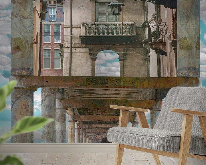Sfeerimpressie behang: Somewhere out there van Barbara van Druten