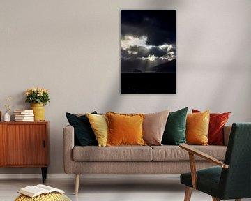 Storm op zee 2 von Lina Heirwegh