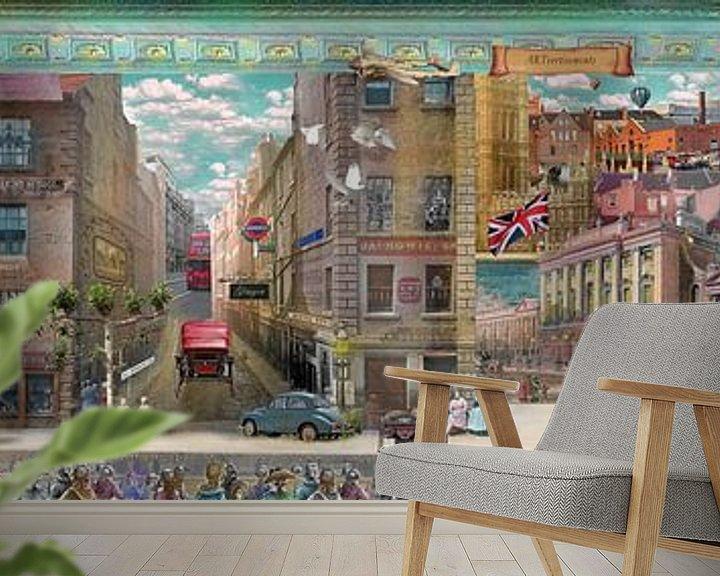 Sfeerimpressie behang: United Kingdom on stage! van Barbara van Druten