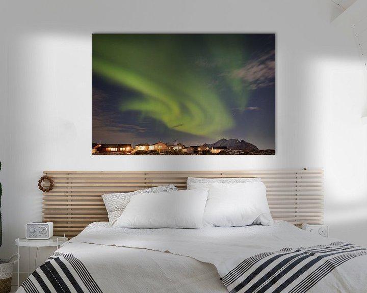 Sfeerimpressie: Aurora Norway van Wim van D