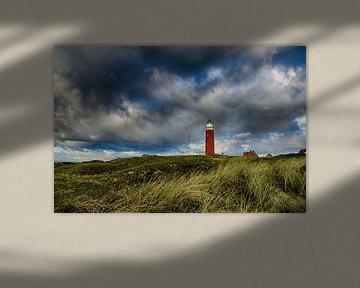 Phare Eierland des dunes de Texel