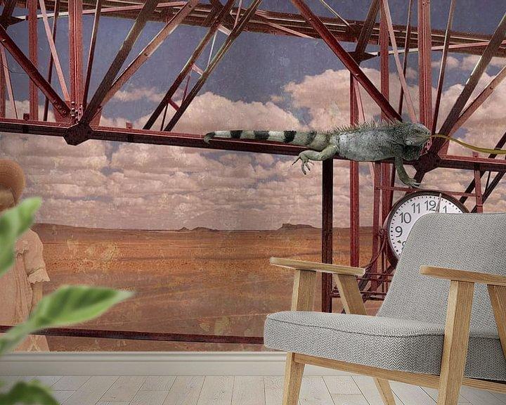 Sfeerimpressie behang: Time is ticking... van Barbara van Druten
