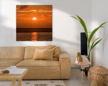 Zons Opkomst /Sun Rise sur Coby Vriens