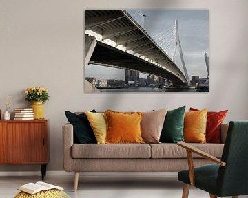 Erasmusbrug Rotterdam von Tim Vlielander