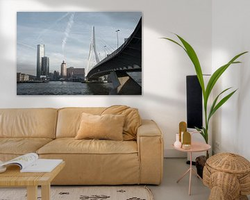 Skyline Rotterdam von Tim Vlielander