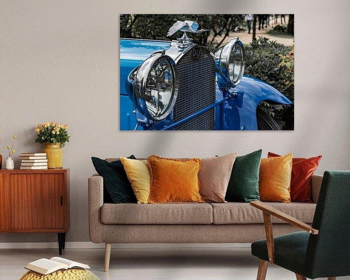 Beispiel: Delage Kühler Ornament von autofotografie nederland
