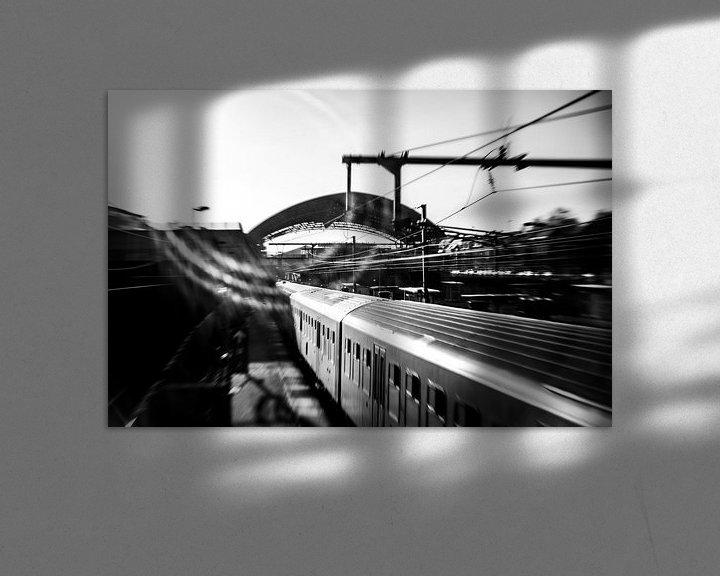 Sfeerimpressie: Station Halle (Belgium) van Ronald De Neve