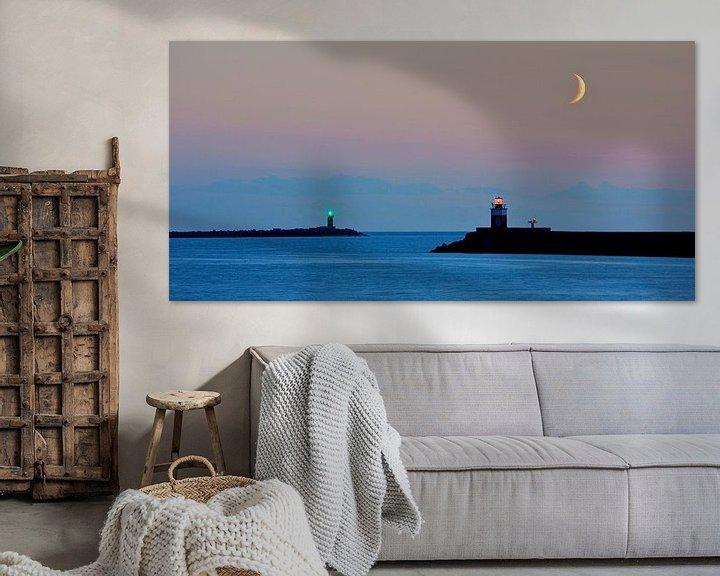 Sfeerimpressie: blue hour van Dennis Beentjes