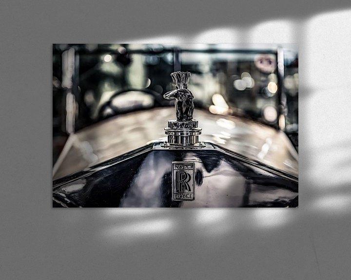 Beispiel: Schauender Inder auf ein Rolls Royce von autofotografie nederland