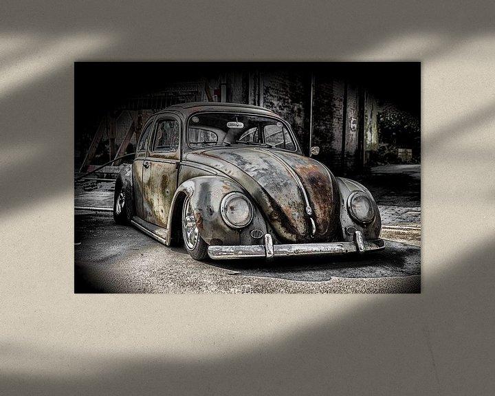 Sfeerimpressie: VW Kever van Ronald De Neve