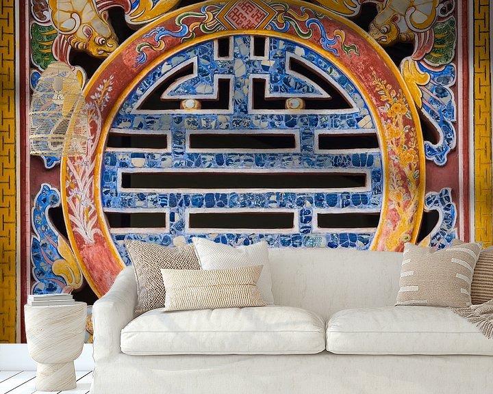 Beispiel fototapete: Symbol des ewigen Lebens, Vietnam von Rietje Bulthuis