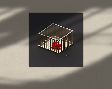 The Golden Cage van Jörg Hausmann