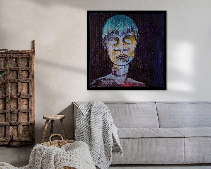 Sfeerimpressie: Slapend Portret van Kuba Bartyński