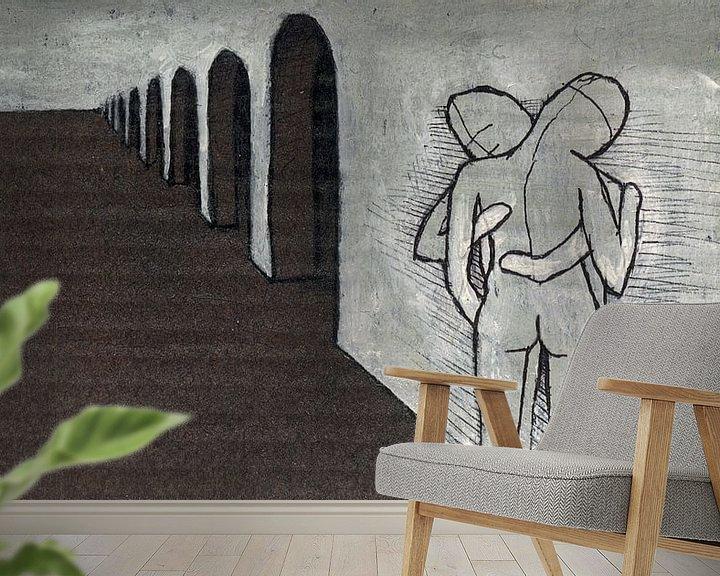 Sfeerimpressie behang: Tederheid van Kuba Bartyński