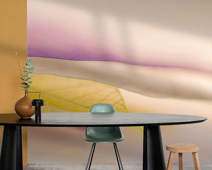 Sfeerimpressie behang: Layers van Birgitte Bergman