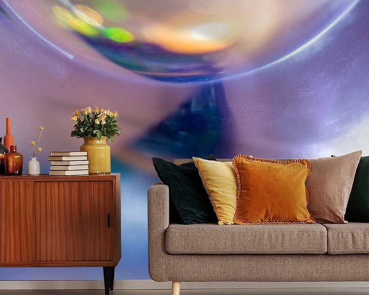 Sfeerimpressie behang: Glasreflectie van angelique van Riet