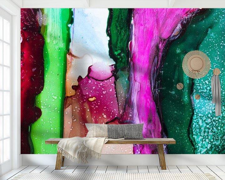 Sfeerimpressie behang: Alcohol op Yuppo van angelique van Riet