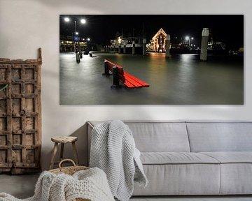 Hoogwater Oudeschild Texel von Ronald Timmer