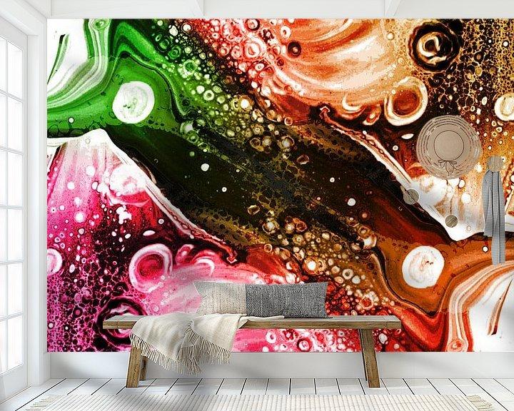 Sfeerimpressie behang: Mysterie 4 van Art Pour Toi