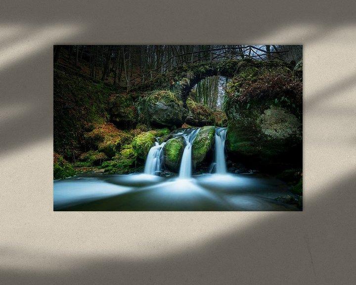Sfeerimpressie: Schiessentumpel waterval van Eric Andriessen