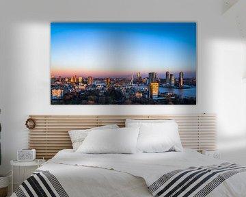 Rotterdam gezien vanaf de Euromast van Dennis Dieleman