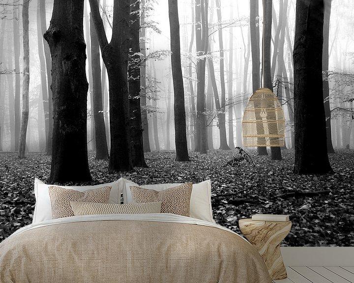 Beispiel fototapete: Fallen leaves von Jenny de Groot