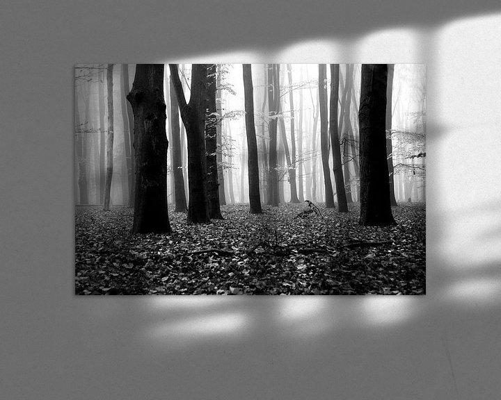 Beispiel: Fallen leaves von Jenny de Groot