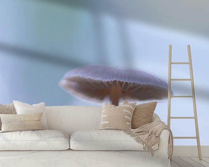 Sfeerimpressie behang: cold van Maja Ooms