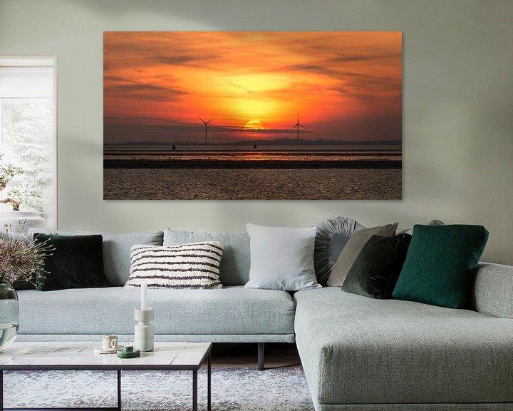 Sfeerimpressie: sunset van Maja Ooms