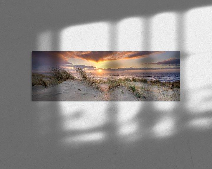 Beispiel: die Küste im Bild von eric van der eijk