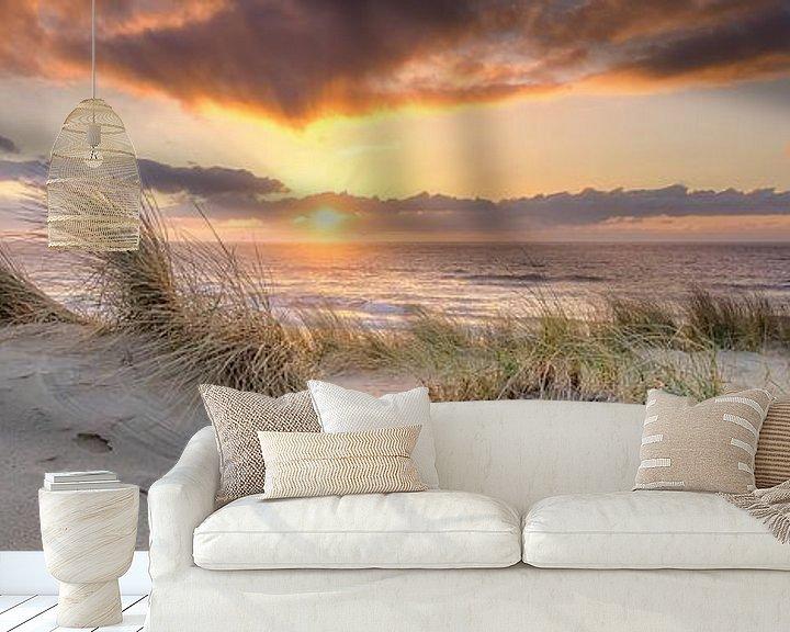 Sfeerimpressie behang: de kust in beeld van eric van der eijk