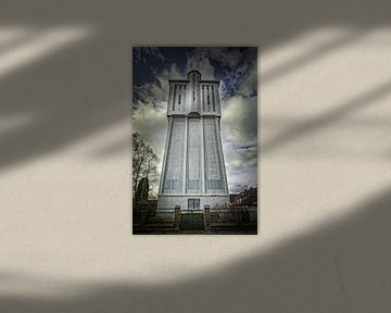 Watertoren frontaal von Freddy Hoevers