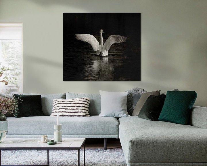Impression: Bird of paradise sur Jenny de Groot