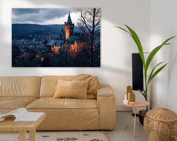 Schloss Wernigerode im Harz van Oliver Henze