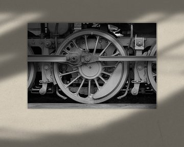 Locomotief wiel von Ron Meijer Photo-Art