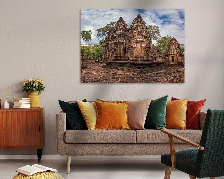 Sfeerimpressie: Banteay Srey tempel, Cambodja van Rietje Bulthuis