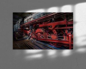 Locomotief Stoomdepot Rotterdam van Mario Brussé Fotografie