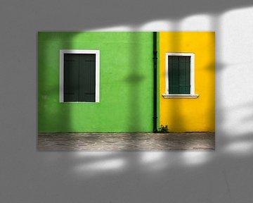 Burano Grün Gelb