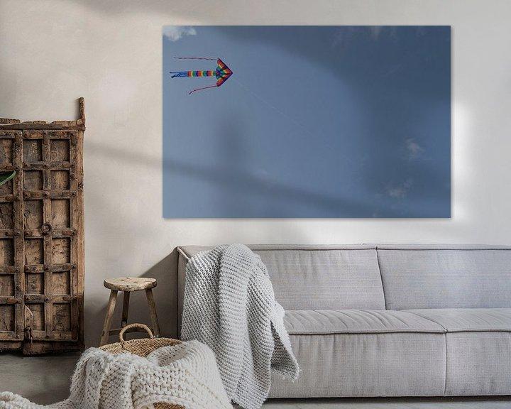 Sfeerimpressie: Vlieger van Sammie van der Hooft