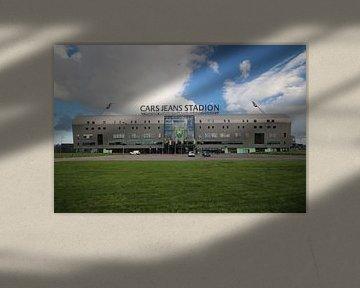 Le stade Cars Jeans d'ADO Den Haag  sur André Muller