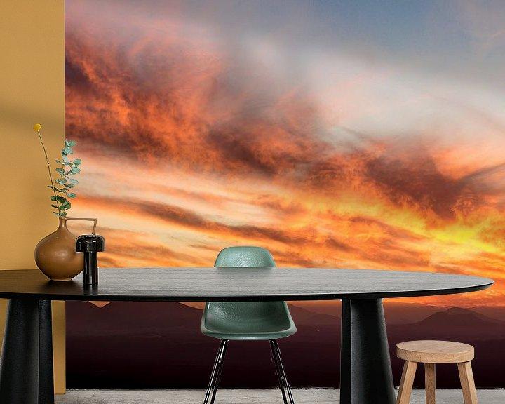 Impression: Sunset above Lanzarote sur Tomas Grootveld