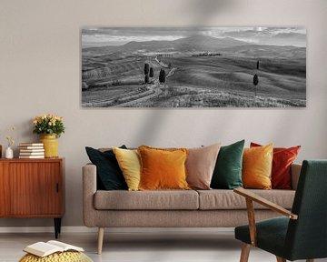 Die Gladiator Road, Toskana von Teun Ruijters