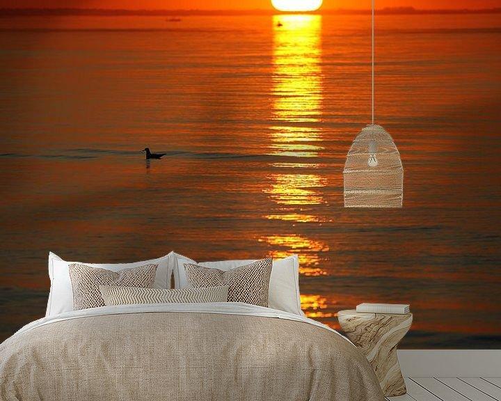 Beispiel fototapete: Sonnenuntergang von Jana Behr