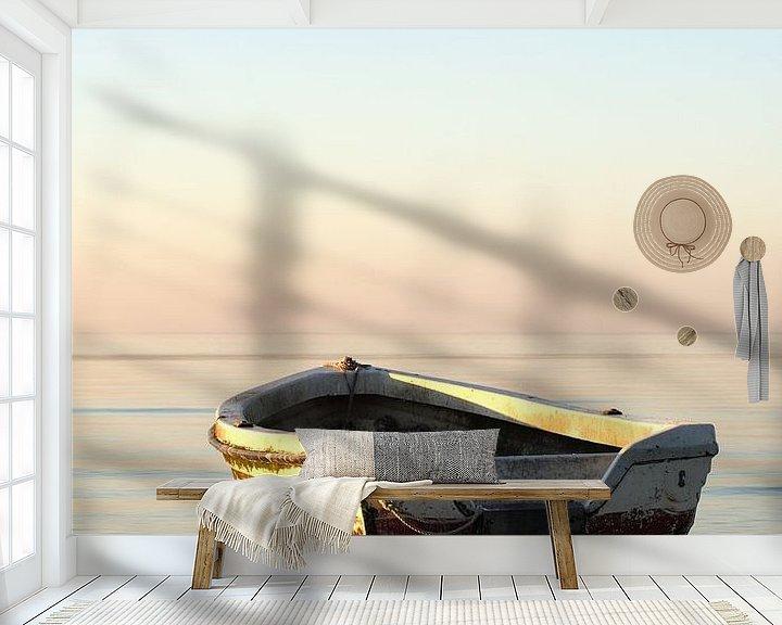Beispiel fototapete: Holzboot von Jana Behr
